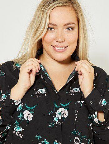 Soepele blouse met print - Kiabi