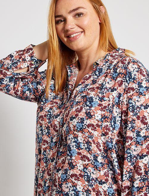 Soepelvallende blouse                                                                                             ROSE