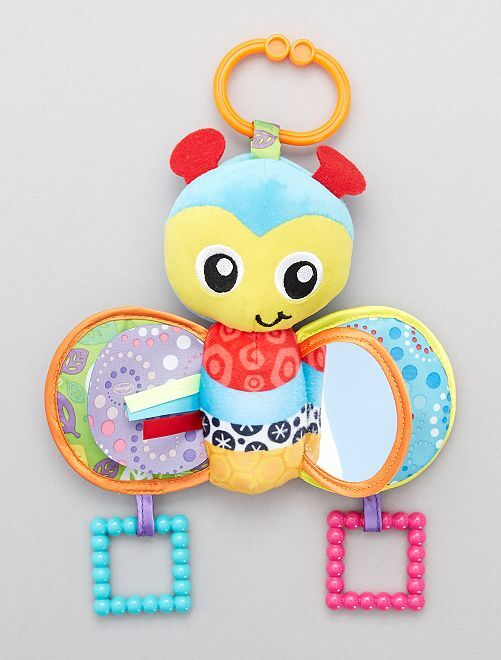 Speelgoed voor kinderwagen bij 'Squeek'                                         blauw