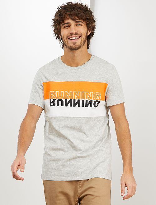 Sportief T-shirt 'Ecodesign'                             GRIJS