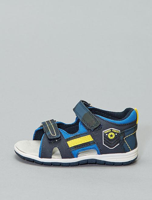 Sportieve sandalen!                             BLAUW Kinderkleding jongens