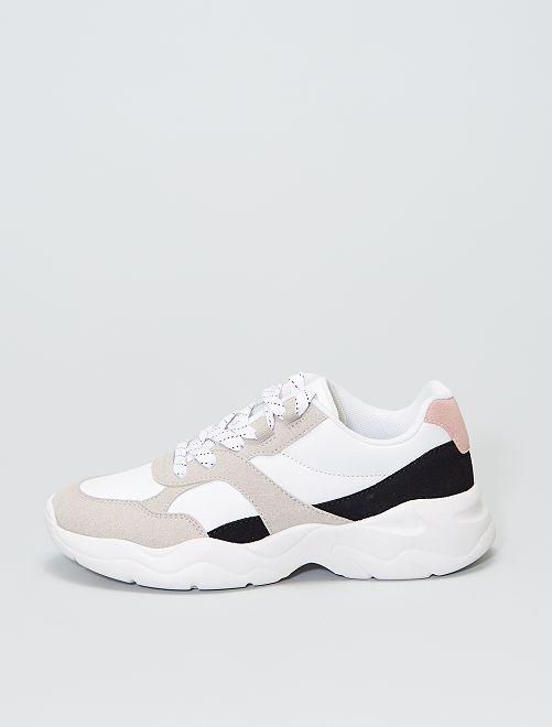 Sportieve sneakers                             wit