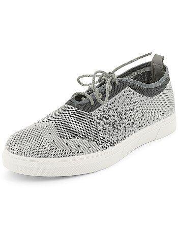 Sportieve, stoffen sneakers - Kiabi