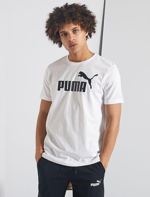 Sportshirt van 'Puma'                                                                 wit
