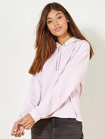 Sportsweater met opschrift - Kiabi
