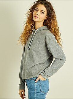 Sweater - Sportsweater van joggingstof - Kiabi