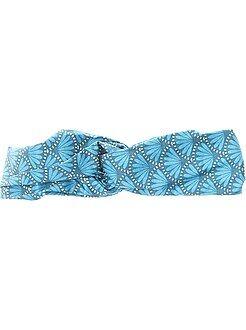 Accessoires - Stoffen bandeau met waxprint - Kiabi