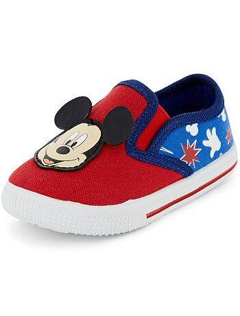 Stoffen 'Mickey Mouse'-sneakers van 'Disney' - Kiabi