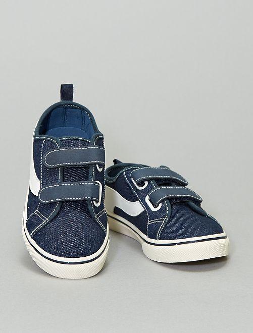 Stoffen sneakers                                                     marineblauw