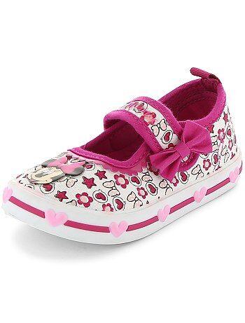 Stoffen sneakers van 'Minnie Mouse' - Kiabi