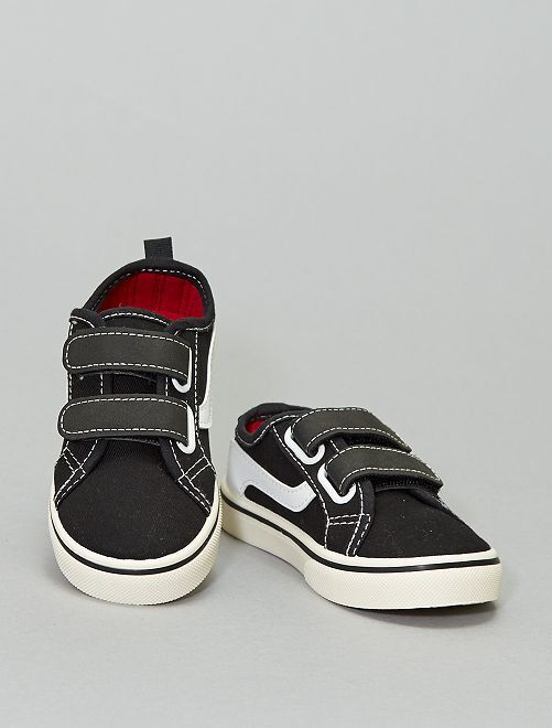 Stoffen sneakers                             zwart