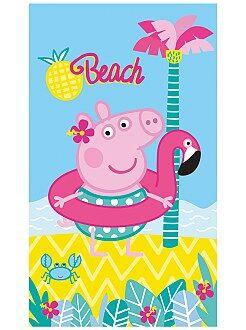 Badtextiel - Strandlaken van 'Peppa Pig' - Kiabi