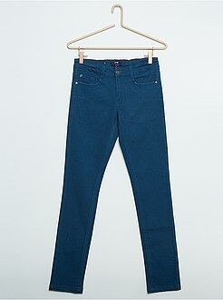 Stretch five-pocket skinny jeans - Kiabi