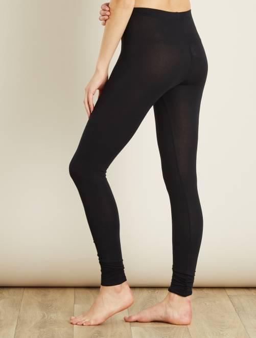 Stretch legging                             zwart