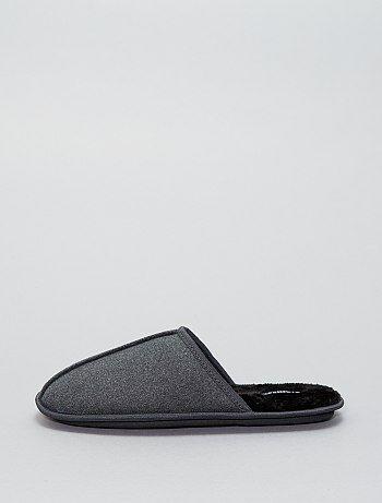 Suèdine pantoffels - Kiabi