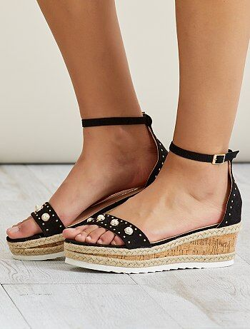 Suèdine sandalen - Kiabi
