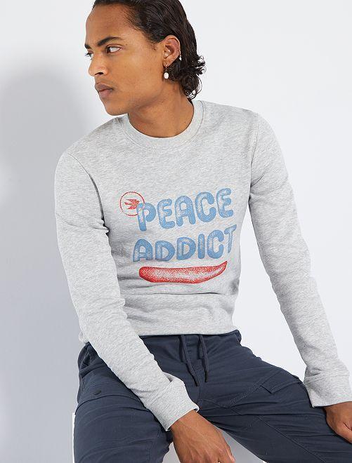 Sweater 'Ecodesign'                                         GRIJS