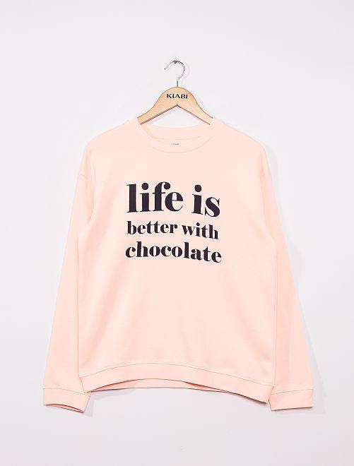 Sweater 'Ecodesign'                                                                                                                                                                             ROSE