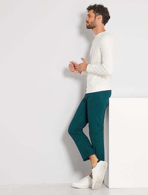 Sweater 'Ecodesign'                                                                             sneeuw wit