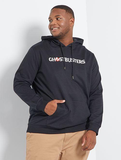 Sweater met capuchon 'Ghostbusters'                             zwart