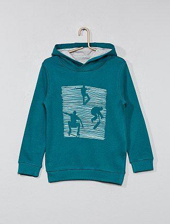 Sweater met capuchon - Kiabi