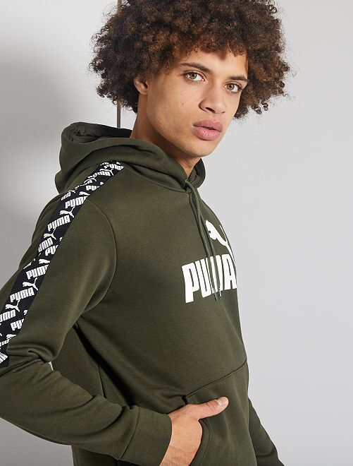 Sweater met capuchon 'Puma'                             zwart