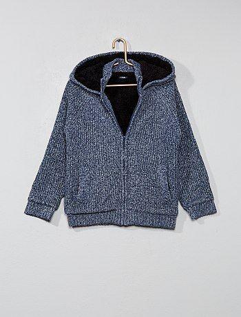 Jongenskleding 3-12 jaar - Sweater met een warme voering - Kiabi
