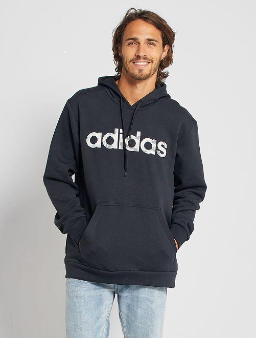 Sweater met kap 'Adidas'                             ZWART