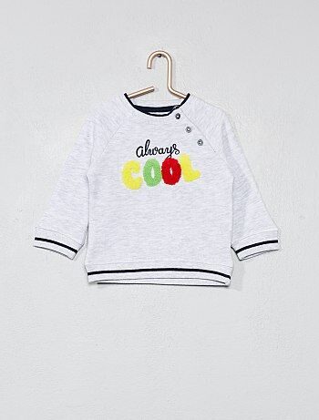 Sweater met print 'cool' - Kiabi
