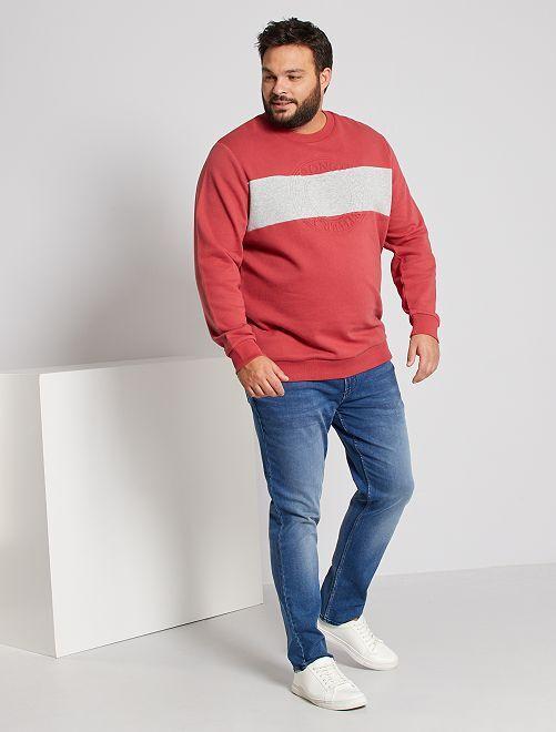 Sweater met reliëf                                         ROSE