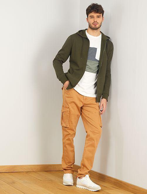 Sweater met rits en capuchon, +1m90                                                                 groen