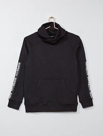 Jongenskleding 10-18 jaar - Sweater met sjaalkraag - Kiabi