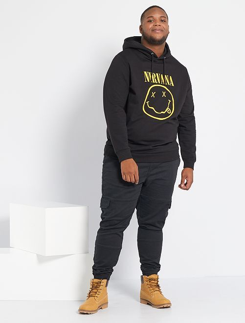Sweater 'Nirvana'                             zwart