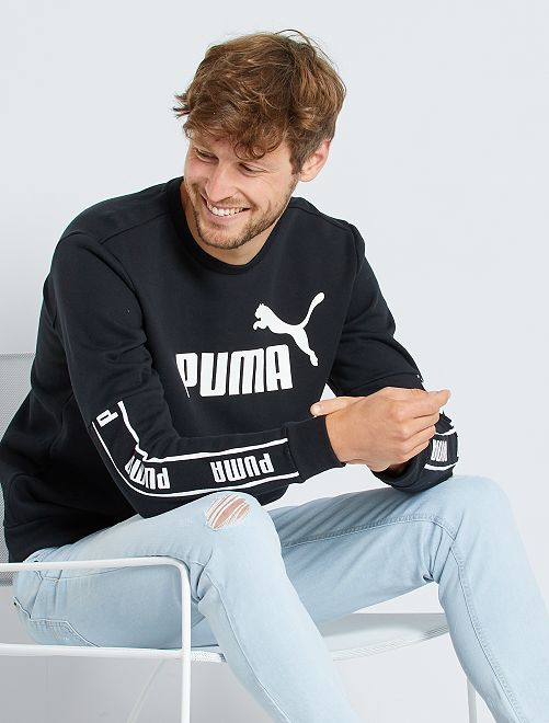 Sweater 'Puma'                             ZWART