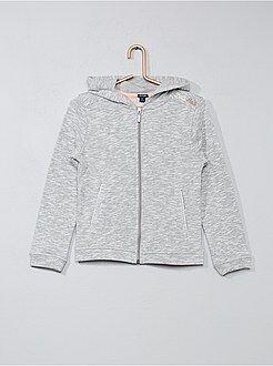 Sweater van dunne gemêleerde joggingstof - Kiabi