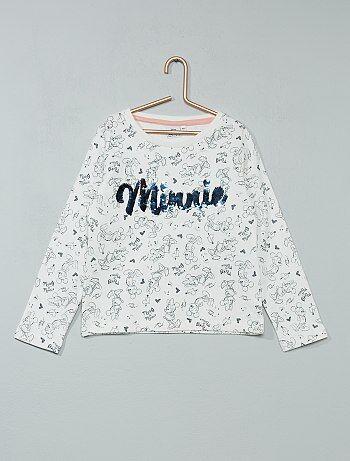 Sweater van joggingstof van 'Minnie' - Kiabi