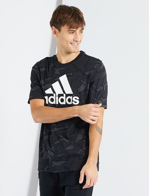 T-shirt 'Adidas'                             ZWART
