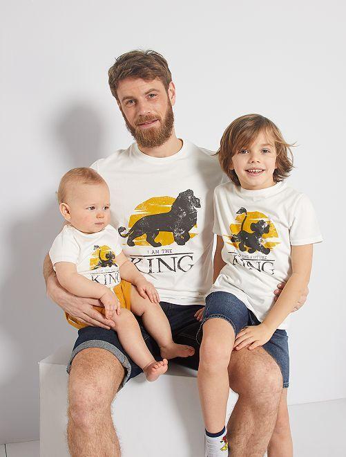 T-shirt 'De Leeuwenkoning' 'Ecodesign'                             WIT
