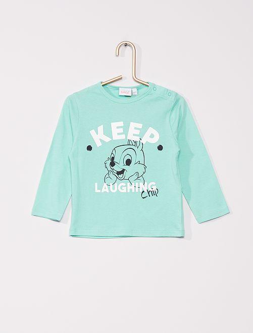 T-shirt 'Disney' 'Ecodesign'                                                                             GROEN