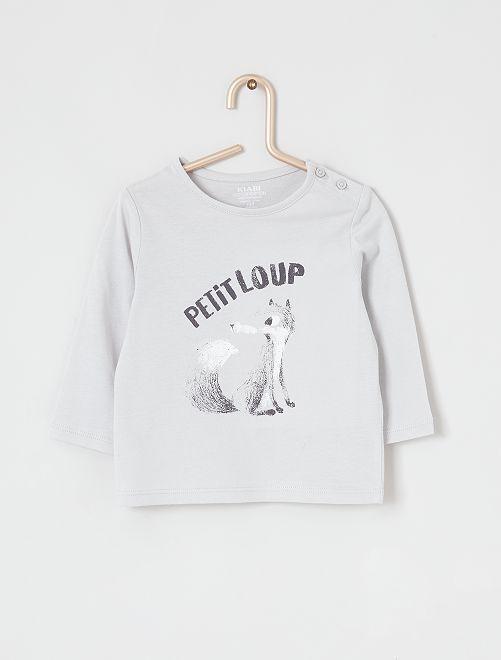 T-shirt 'Ecodesign'                                                                             GRIJS