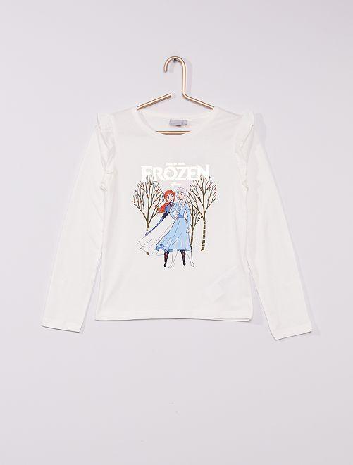 T-shirt 'Frozen'                                         WIT