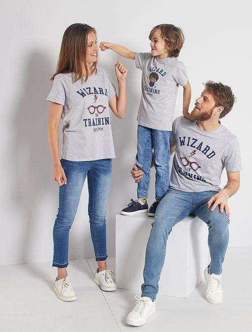 T-shirt 'Harry Potter'                             grijs gemêleerd