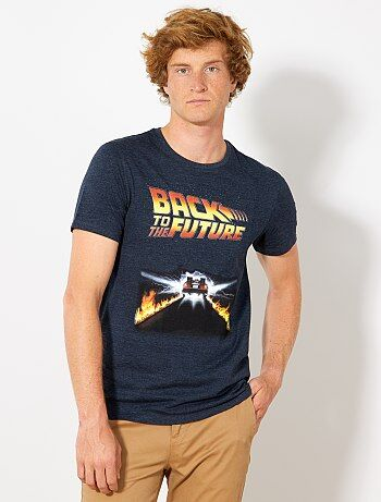 T-shirt met 'Back to the future'-print - Kiabi
