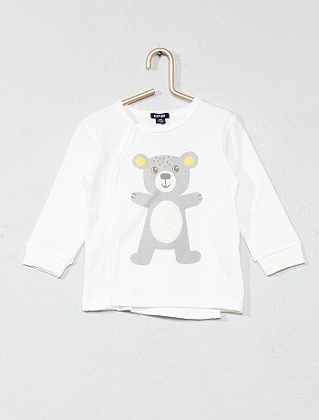 T-shirt met berenprint - Kiabi