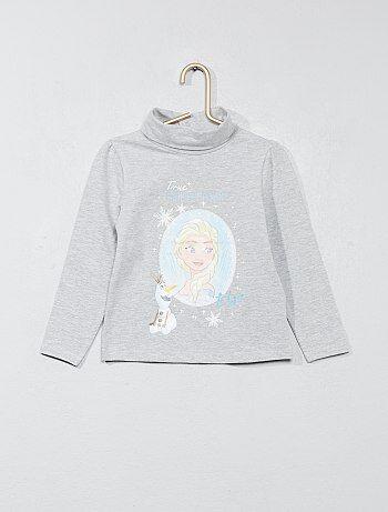 T-shirt met col - Kiabi