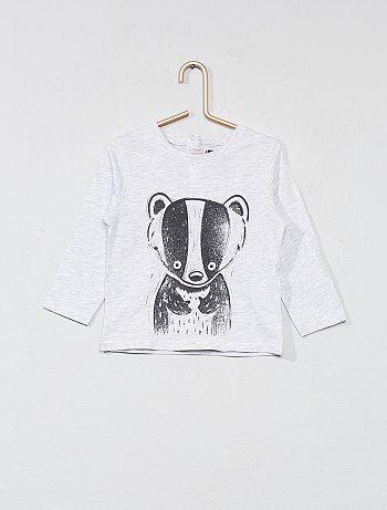 T-shirt met dierenprint - Kiabi