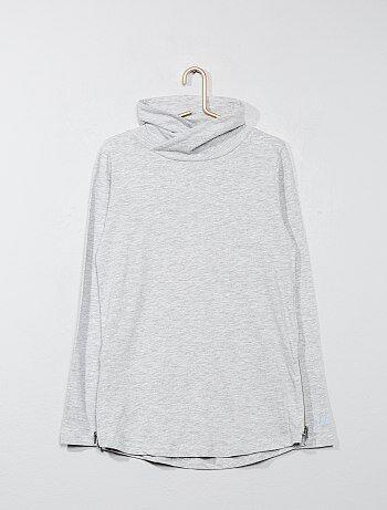 Jongenskleding 10-18 jaar - T-shirt met een col - Kiabi