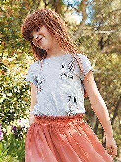 T-shirt met een girly print