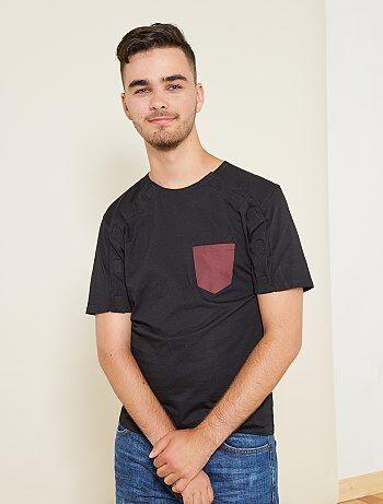 T-shirt met klittenband van 'A&K Classics' - Kiabi