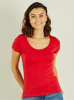 T-shirt - T-shirt met korte mouwen - Kiabi